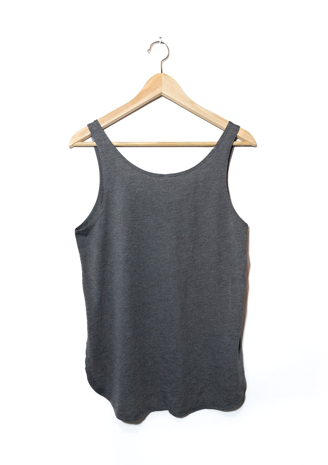 Bare Lyfe Co. - Flux - Women's Relaxed Fit Tank - Grey (Back)