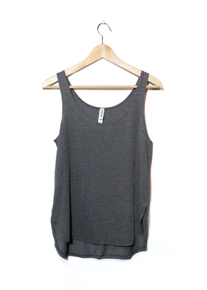 Bare Lyfe Co. - Flux - Women's Relaxed Fit Tank - Grey