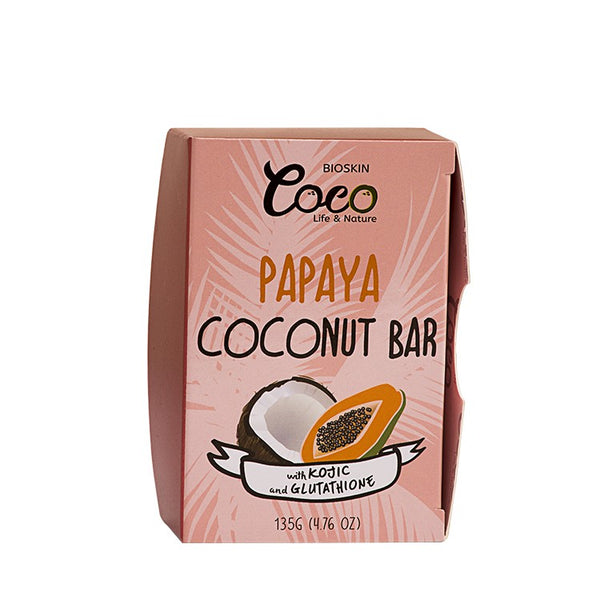 Papaya Coconut Bar With Kojic & Gluta