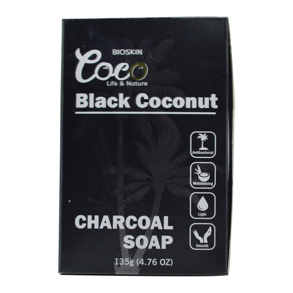 Black Coconut Charcoal Soap