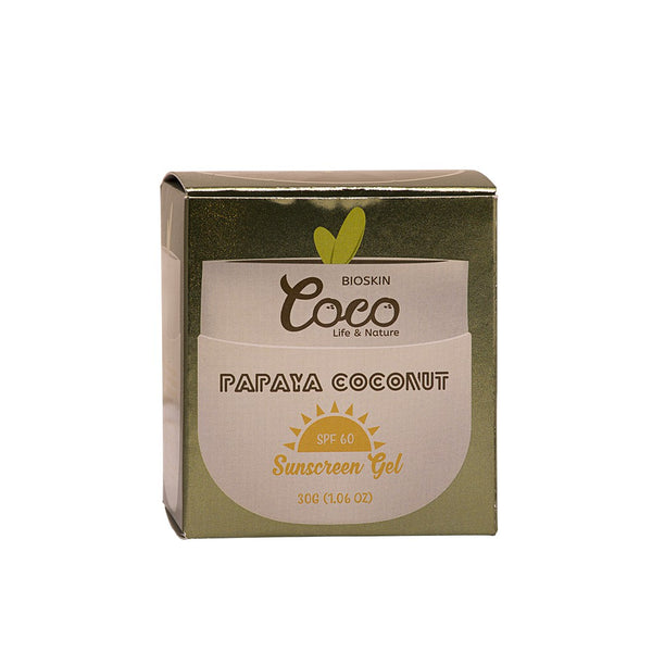 Papaya Coconut Sunblock Gel