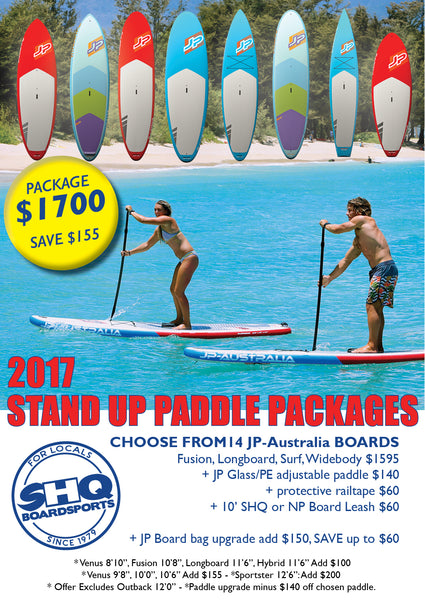 JP- Australia SUP pacakges, just in time for summer