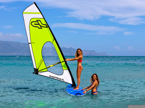 beginner windsurfing package