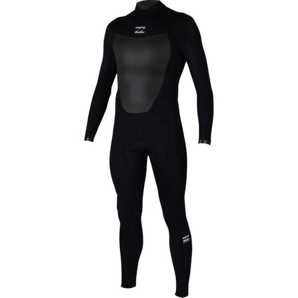 Billabong ABSOLUTE COMP 4/3 BACK ZIP LS FULLSUIT