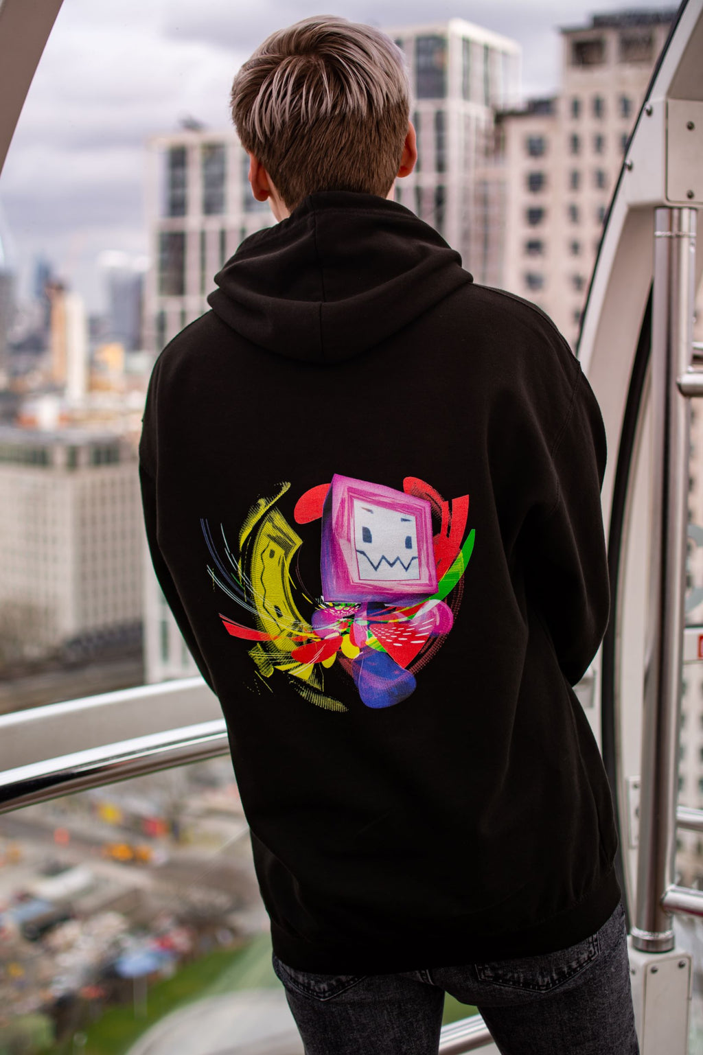 1997 Pyrocynical Mascot Hoodie