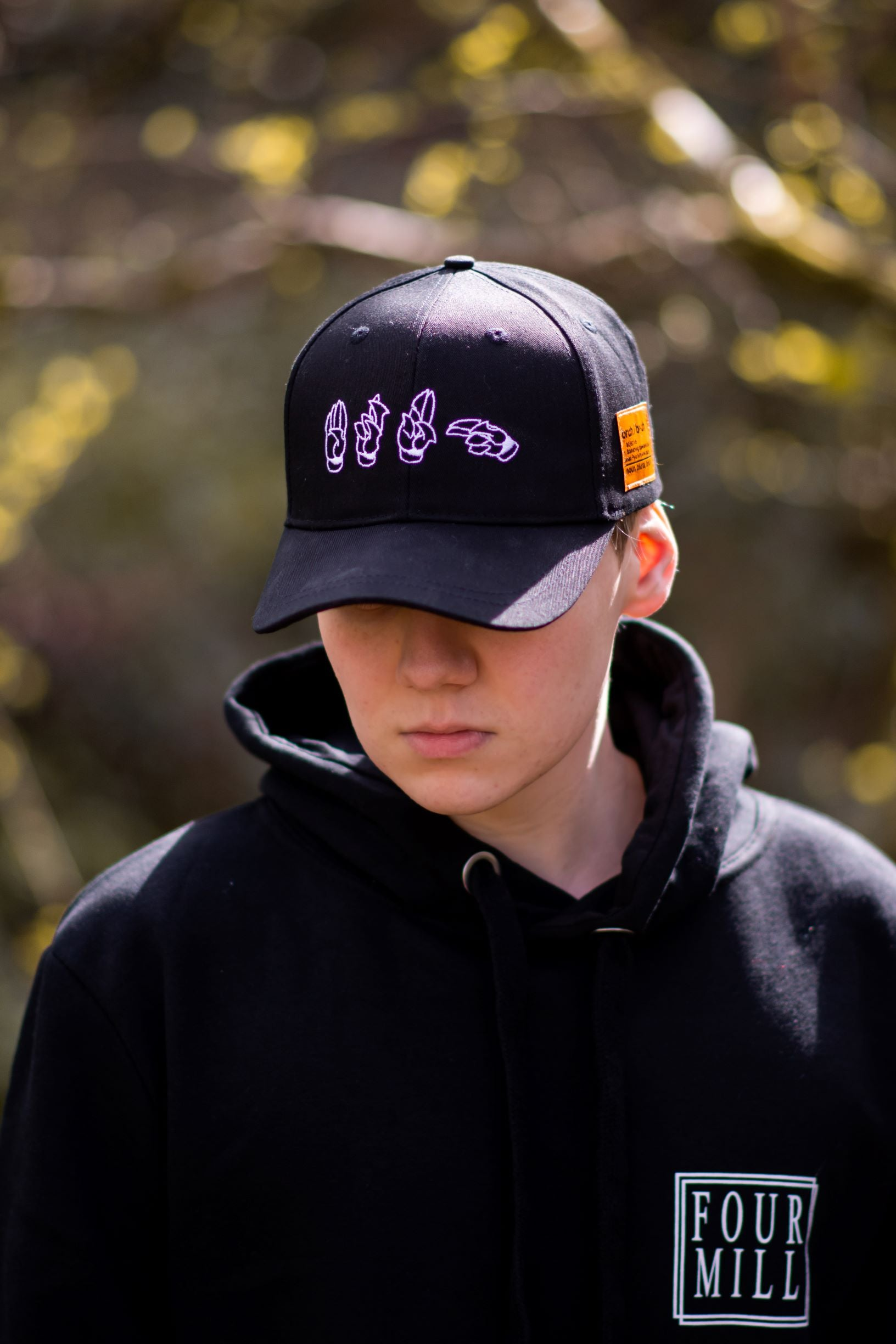 Bruh Black Baseball Cap - Back in Stock