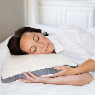 Kapok Noodle Pillow - Side Sleeper