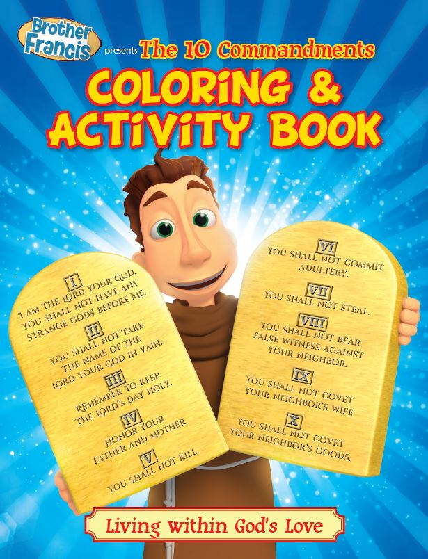 Brother Francis Coloring and Activity Book The Ten Commandments