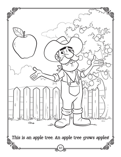 Brother Francis Coloring and Activity Book - Confirmation - sample page