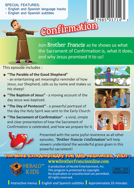 Confirmation - The Blessings of Belonging to God DVD synopsis