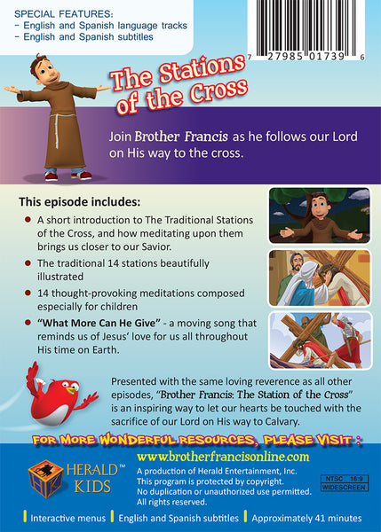 The Stations of the Cross for Catholic children | Brother Francis DVD synopsis