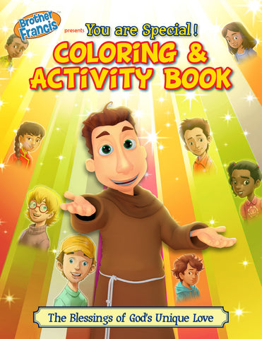 Brother Francis Coloring and Activity Book - You Are Special
