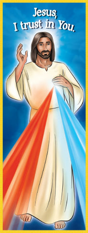 Bookmark - Divine Mercy Chaplet by Brother Francis