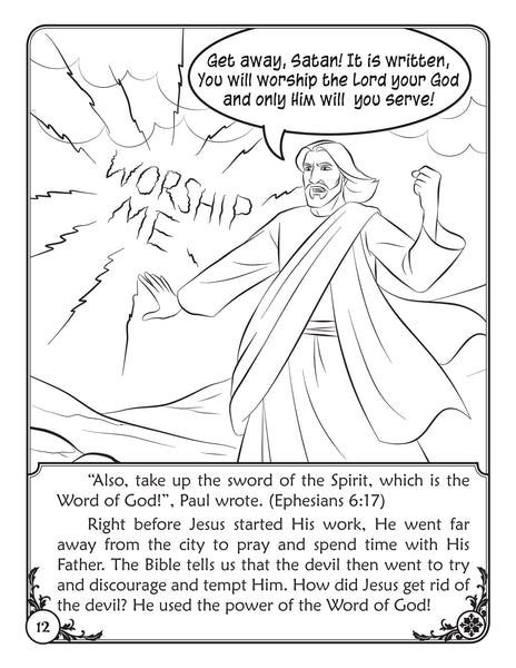 Color and Grow - The Armor of God reader and coloring book - Sword of the Spirit