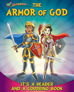 Color and Grow - The Armor of God reader and coloring book - Ephesians 6:10-18