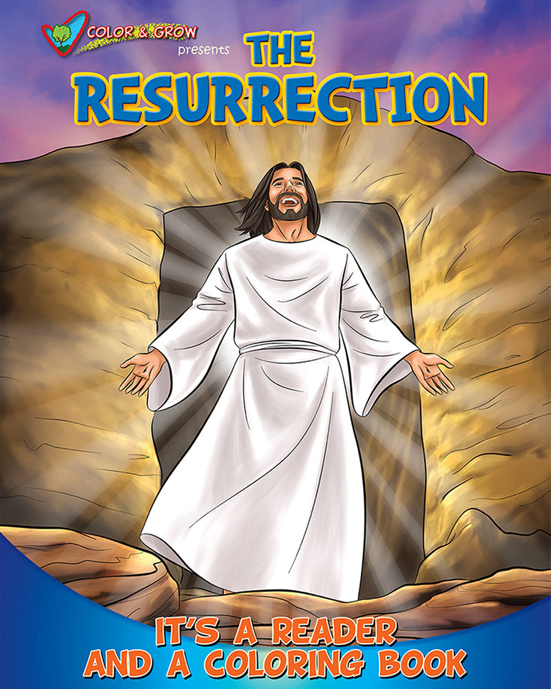 Coloring Book: The Resurrection - Color and Grow Series