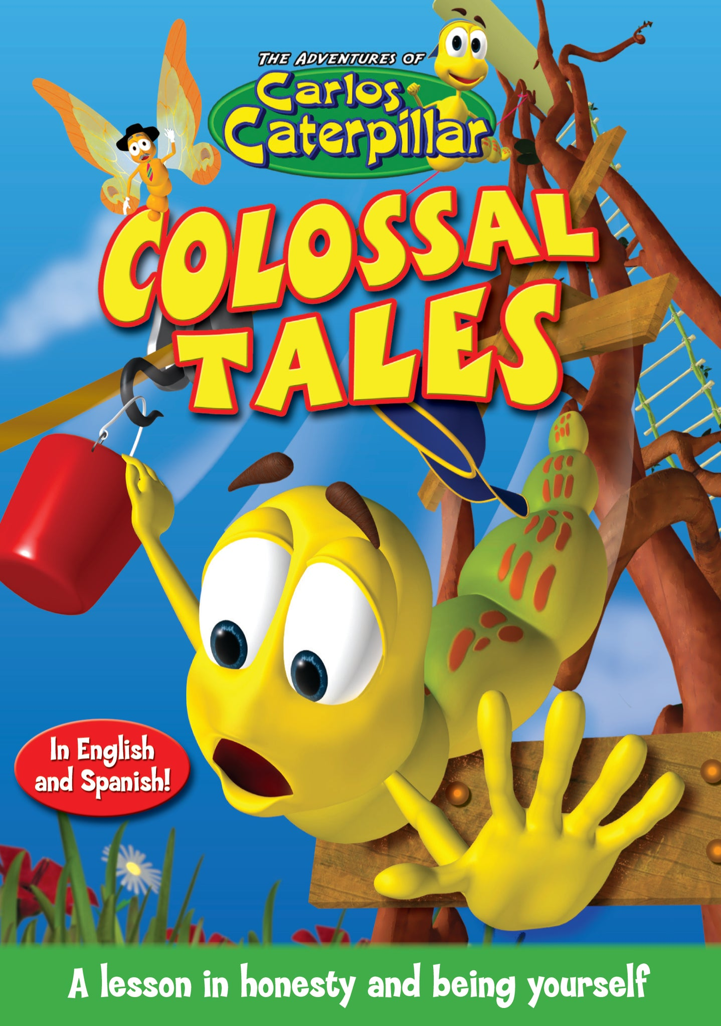 Carlos Caterpillar Episode 1 - Colossal Tales DVD cover
