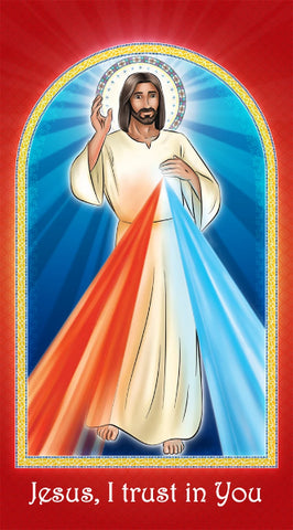 Prayer Card - Divine Mercy