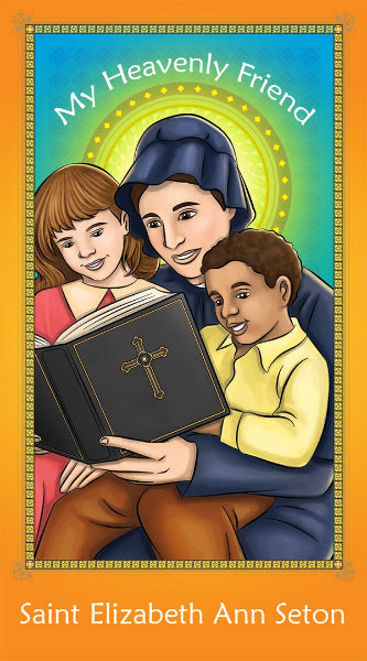 Prayer Card - Saint Elizabeth Ann Seton | Holy card for kids