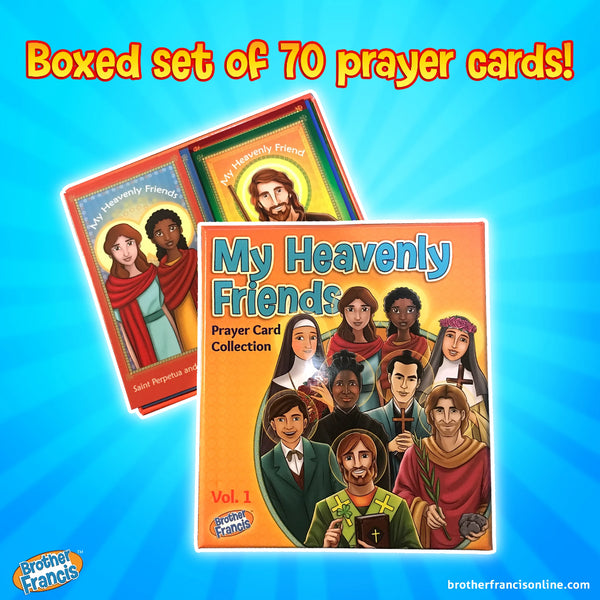 My Heavenly Friends Prayer Card Collection - Set of 70