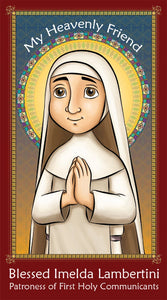 Prayer Card - Blessed Imelda Lambertini