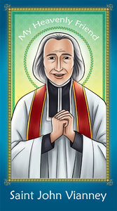 Prayer Card - John Vianney holy card for Catholic kids