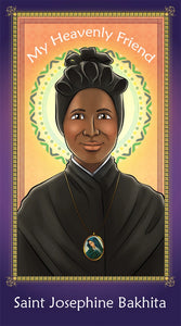 Prayer Card - Saint Josephine Bakhita | Holy card for Catholic kids by Brother Francis