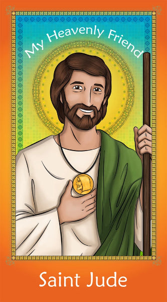 Prayer Card - Saint Jude | Holy card for Catholic kids by Brother Francis