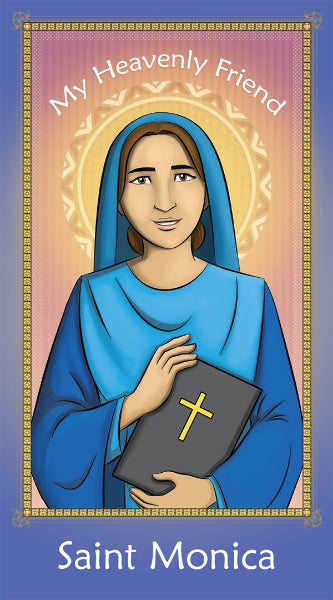 Prayer Card - Saint Monica