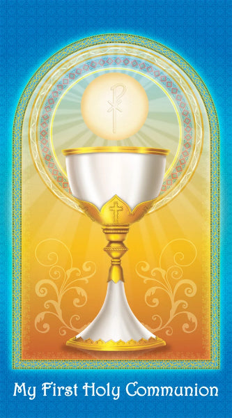 Prayer Card - My First Holy Communion