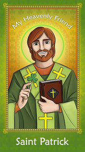 Prayer Card - Saint Patrick | Holy card for Catholic kids by Brother Francis