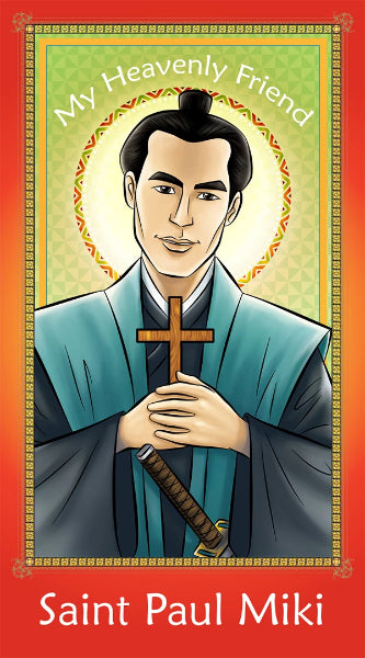 Prayer Card - Saint Paul Miki | Holy card for Catholic kids