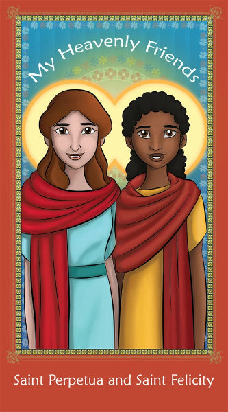 Prayer Card - Saint Perpetua and Saint Felicity