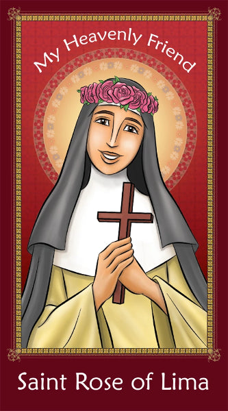 Prayer Card - Saint Rose of Lima