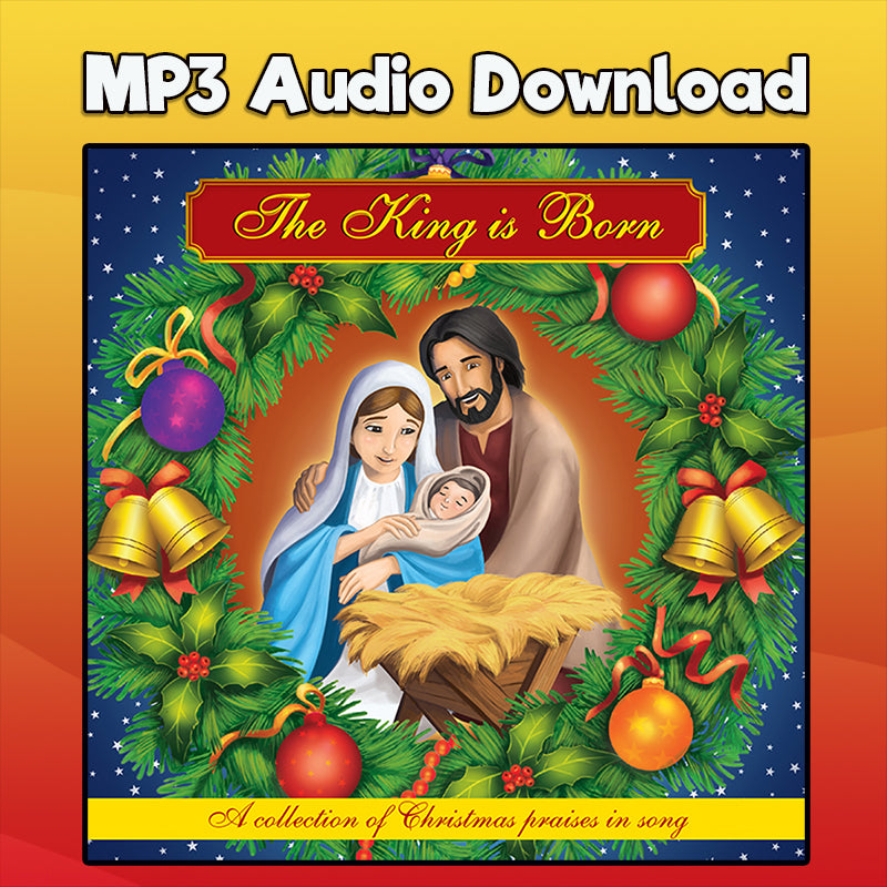 "Away in a Manger MP3 download ""The King is Born"" CD"