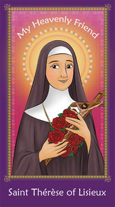 Prayer Card - Saint Therese of Lisieux