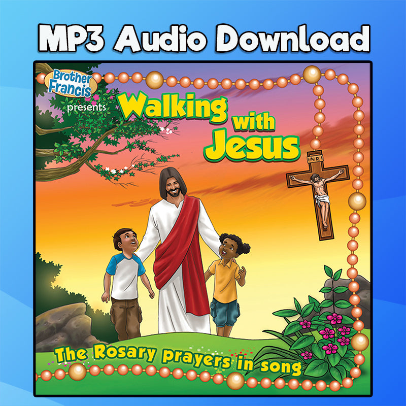 "Sorrowful Mysteries MP3 Download ""Walking with Jesus"" CD"
