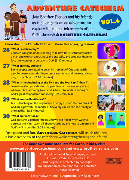 Adventure Catechism Volume 6 - DVD