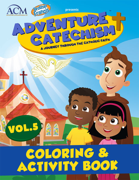 Adventure Catechism Volume 5 - Coloring and Activity Book