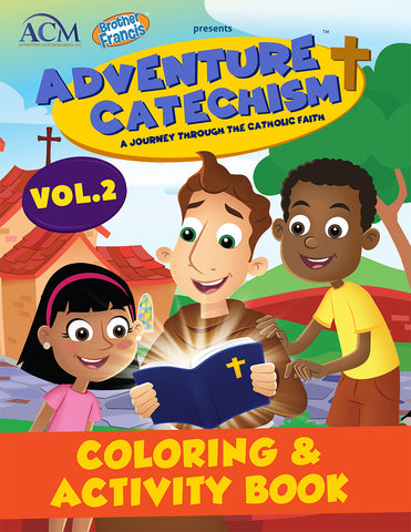 Adventure Catechism Volume 2 - Coloring and Activity Book