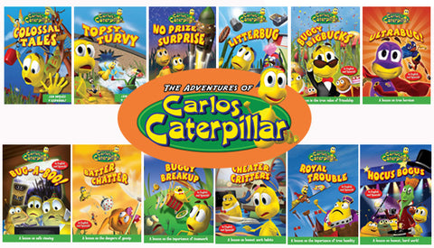 Carlos Caterpillar: Set of 12
