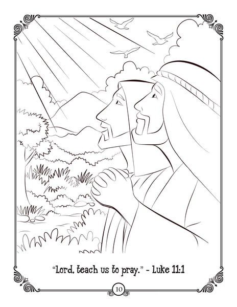 Brother Francis Coloring Book - Ep. 01: Let's Pray