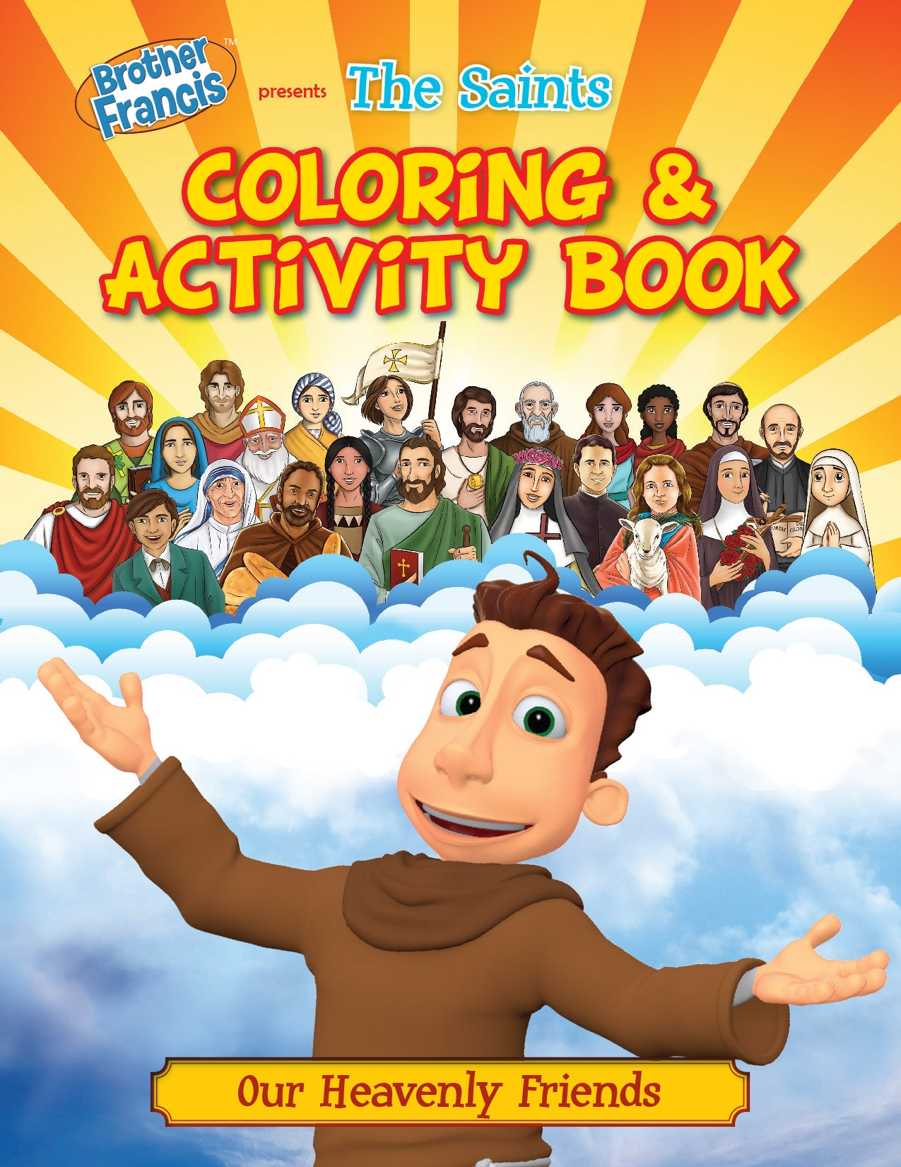 Brother Francis Coloring and Activity Book - The Saints