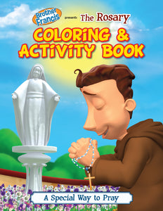Brother Francis Coloring and Activity Book - The Rosary