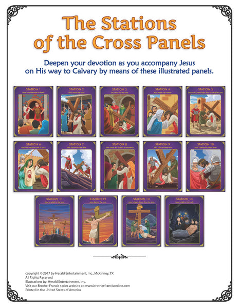 Stations of the Cross 12 panels