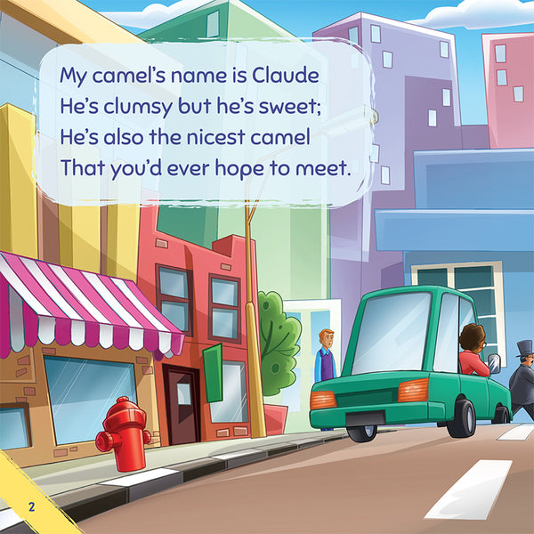 Don't Ever Park Your Camel on a Busy, Crowded Street - a book about bullying sample page 1