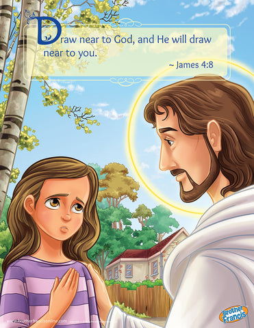 Examination of Conscience (Girl) Brother Francis Mini Poster