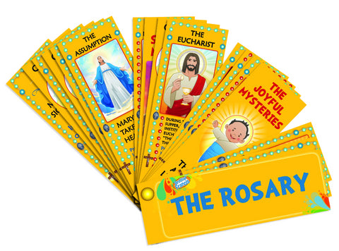 Brother Francis Devotional Catholic Rosary Fan