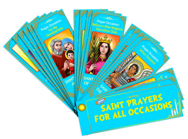 Saint Prayers for All Occasions - Devotional Fan Booklet by Brother Francis