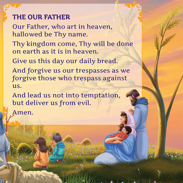 I Love to Pray - the Our Father sample page